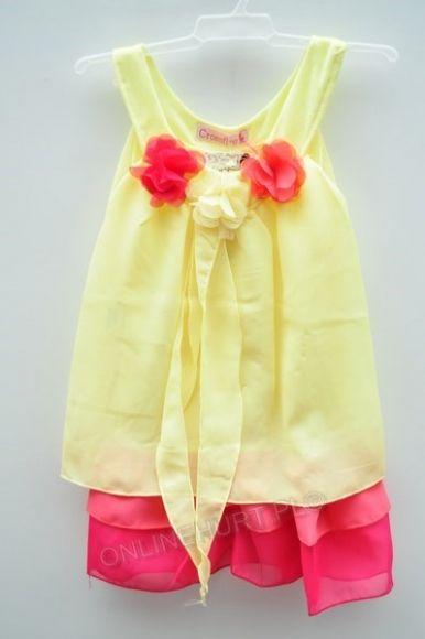 Sukienka dziewczęca GP-016  _B6  (2-10)