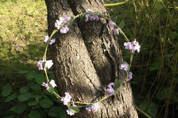 Floral crown flower crown fairy costume by TheWitchChandlery