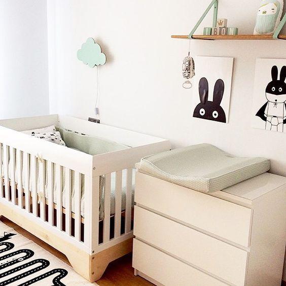 1504 best images about habitaciones infantiles y - Habitaciones infantiles en blanco ...