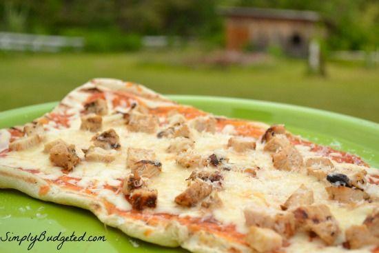 Grilled Chicken Parm Pizza