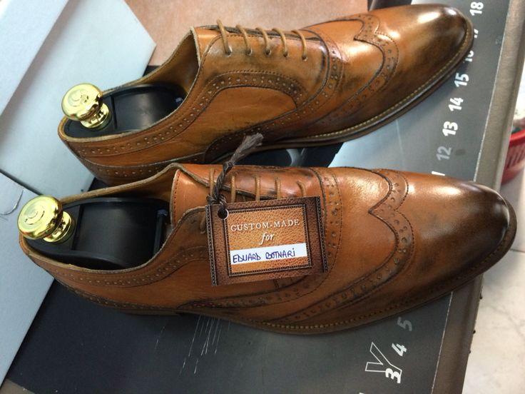 Oxford Shoes Custom Made Vitello Leather By Alexandru Pop