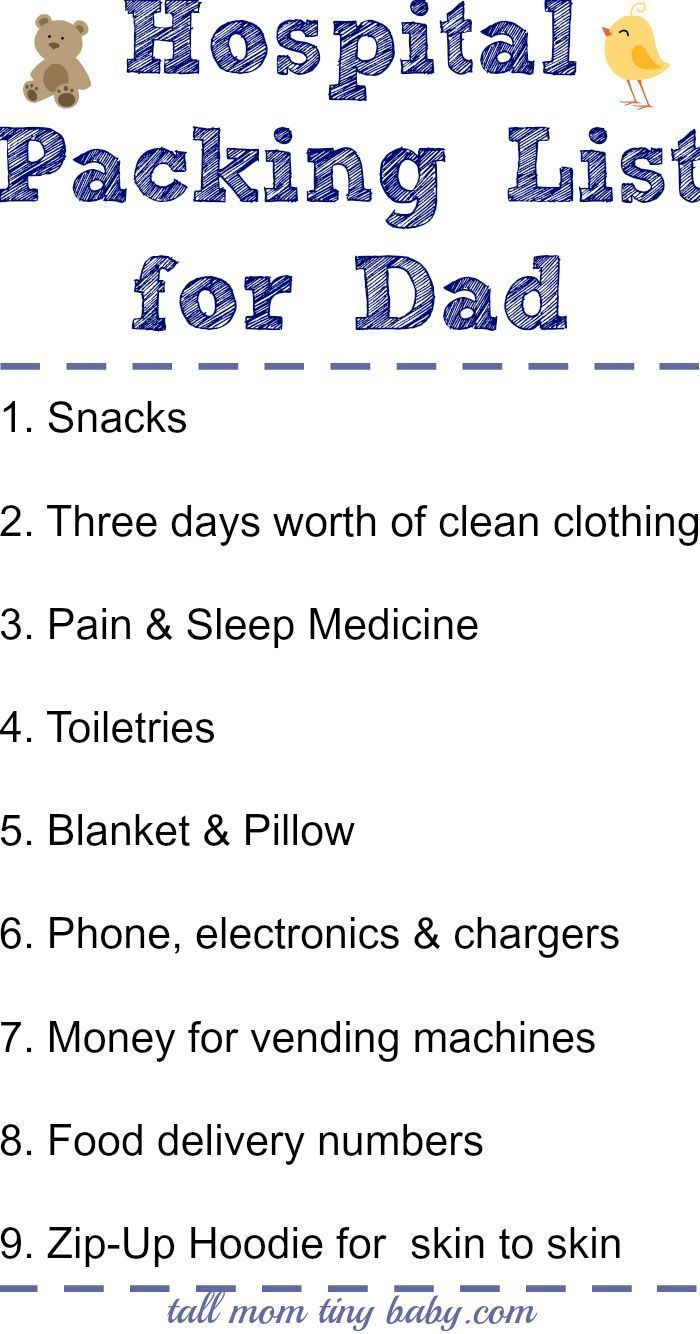 What's In My Hospital Bag {The Second Time Around