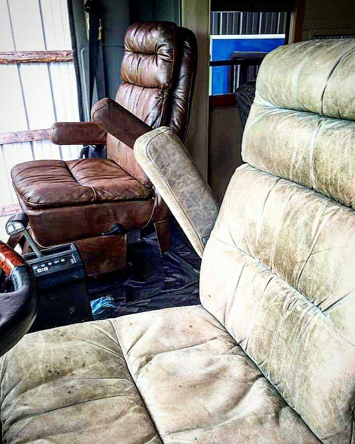Leather Sofa Paint Repair