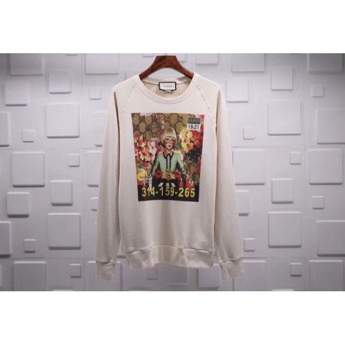 c732bfff4f7 Gucci Ignasi Monreal print sweatshirt 489677 X3L79