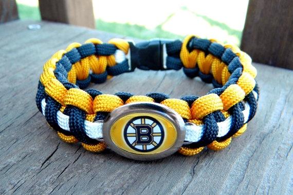 Just ordered this!! How cute!!    Custom Handmade Boston Bruins Hockey Team by knotcreations on Etsy, $16.50