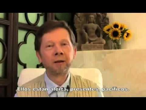 Eckhart Tolle-Nunca estas enojado×la razón q'crees - YouTube