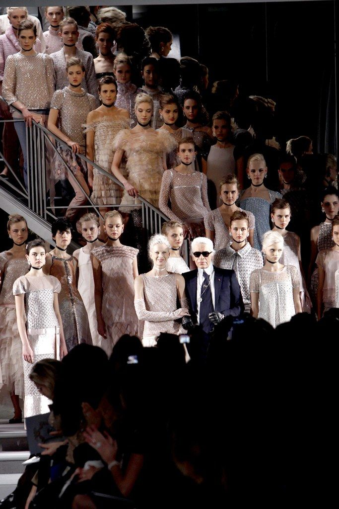 Chanel Spring 2011 Couture Fashion Show - Karl Lagerfeld, _center_