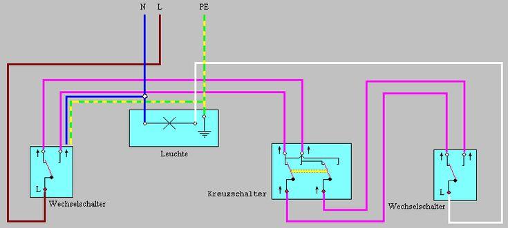 Schaltungen Schaltplan Elektroinstallation Schalter