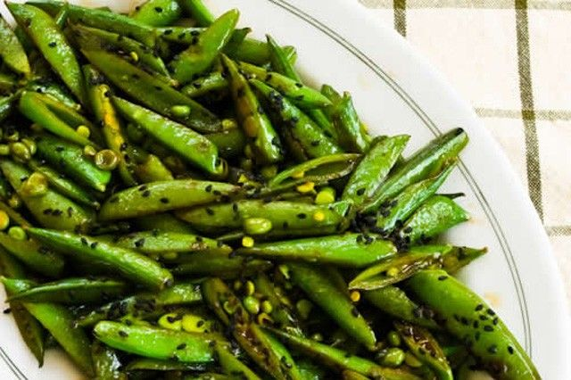 spicy sugar snap peas: Meatless Mondays, Side Dishes, Sesame Oil, Spicy Stir Fries, Sugar Snap Peas, Soy Sauces, Stir Fries Sugar, Meatlessmonday Recipes, Peas Recipes