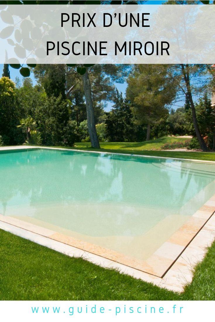 Le prix d une piscine miroir comment le calculer piscine miroir piscine prix piscine et - Prix piscine miroir ...