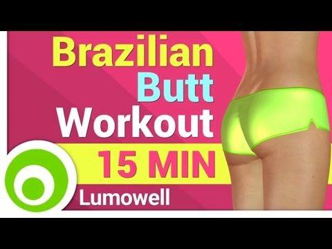 Perfect Butt Workout - Brazilian Butt Lift Challenge - YouTube