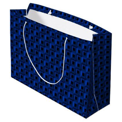 Barnacles in Blue Large Gift Bag Only - black gifts unique cool diy customize personalize