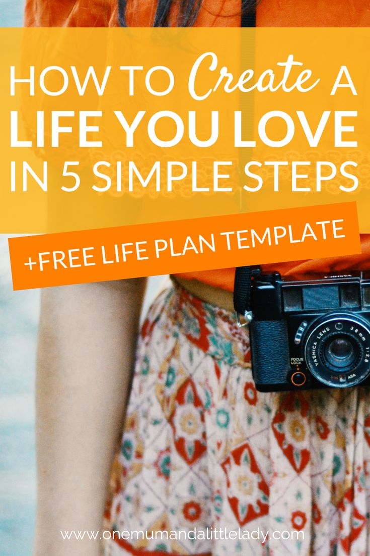 Want to ditch the clutter & overwhelm & really focus on how to live a life you love? Then you need this Life Plan guide, which shows you HOW to create a Life Plan for your dream life. Whether you're looking to create a 5 or 10 year plan, set life goals for the things that matter or write an action plan, make this 5 step guide to mapping your dreams your 'go to' resource! You can also sign up for the totally FREE Life Plan template + guide, which makes planning your life a breeze!