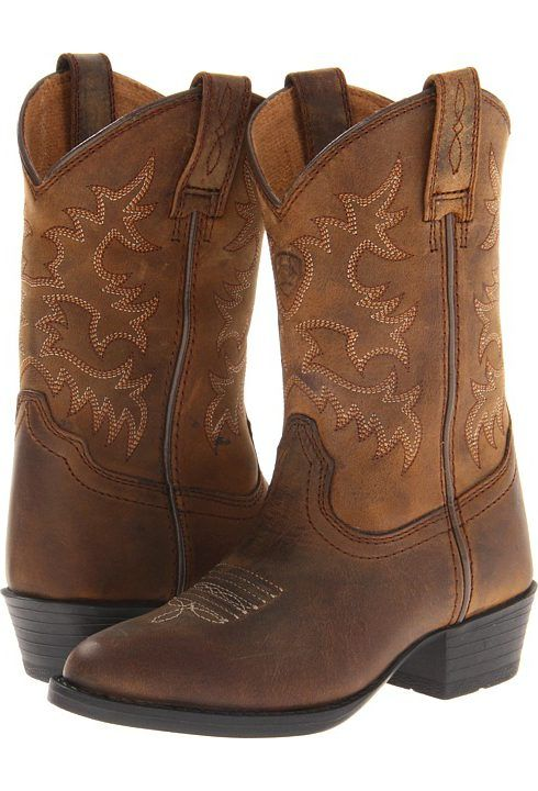 Ariat Kids Heritage Western (Toddler/Little Kid/Big Kid) (Distressed Brown) Cowboy Boots - Ariat Kids, Heritage Western (Toddler/Little Kid/Big Kid), 10001825, Kids' Shoes Girls Toddler Boots Western, Western, Boot, Footwear, Shoes, Gift, - Fashion Ideas To Inspire