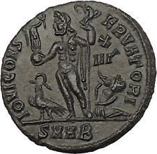 Licinius I Constantine The Great enemy 321AD Ancient Roman Coin Jupiter i53258