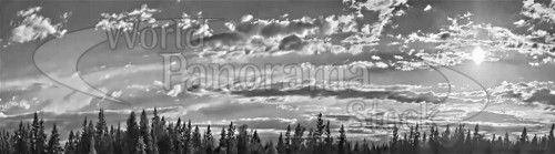 Panoramas of Maple Valley Sunsets
