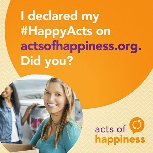 Saving Said Simply: Join Acts of Happiness & Support Big Brothers Big Sisters #HappyActs #sponsored