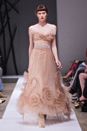 Vesselina Pentcheva blush dress