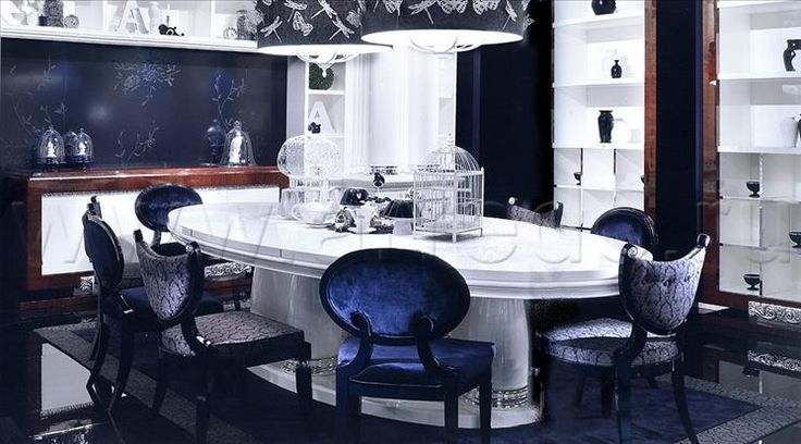 Композиция столовые комнаты 29, производитель ELLEDUE – элитная мебель из Италии в салоне «ARREDO»