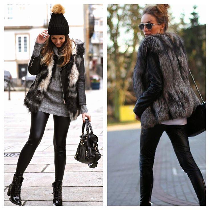 E afinal o que é Faux Fur, minha gente?! Faux Fur é aquele casaco ou colete peludinho, feito com pele sintética, pele falsa, ou fake. Além de eu ser super a favor de couro sintético, pele sintética, ou seja, sou a favor de tudo que poupe os animais, essas são peças super charmosas. Confesso que simpatizo mais com o colete e, tenho um , do que com o casaco.