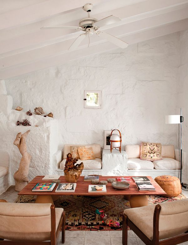 WEEKEND ESCAPE: A VILLA ON THE SPANISH ISLAND OF MENORCA from the The Style Files
