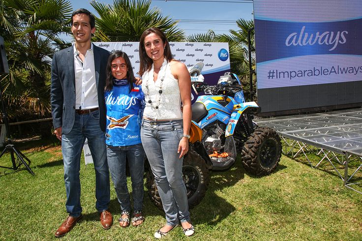 Paula Gálvez con Alway, Karting.