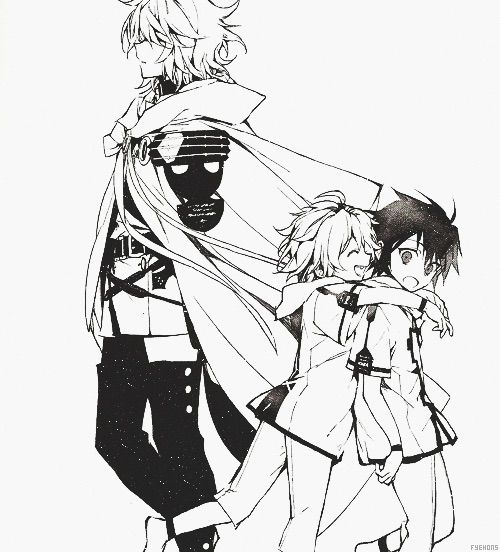 Yuu & Mika | Owari no Seraph / Seraph of the End