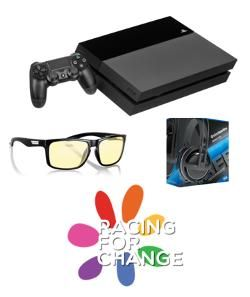 PS4 Console, 3 PS4 Games of Choice, Dark Souls 3 for PS4, Doom for PC (Steam Key), GUNNAR Optiks Classes, SteelSeries Gaming Headphones, 3 Months Twitch Turbo, and more
