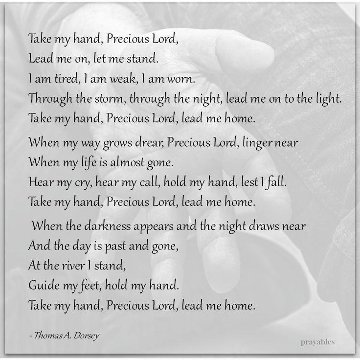 Lyric lyrics to take my hand precious lord : 285 best Praise & Worship images on Pinterest   Christian songs ...
