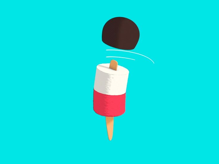 Motion graphics vector animated gifs Sweets for friday (gif)