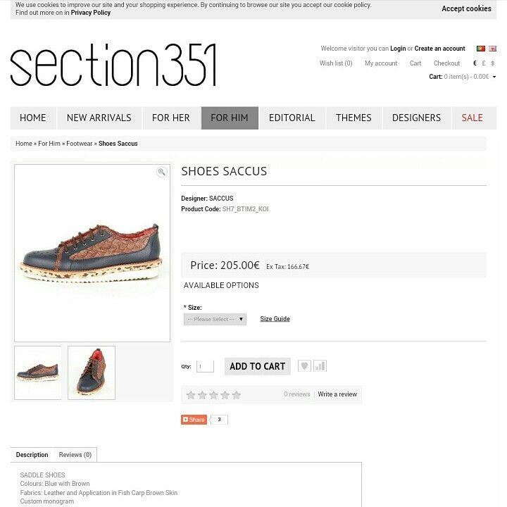 Shoes SACCUS   Be unique!