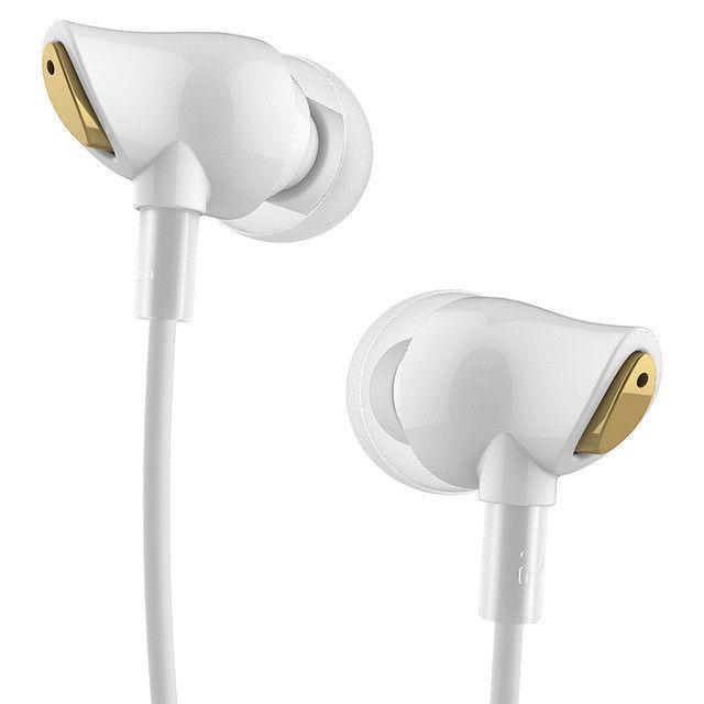 100% Original Rock Earphone Nano Zircon Stereo Earphone Headset 3.5mm In Ear Headset Earbuds For IPhone Samsung With Mic&Remote