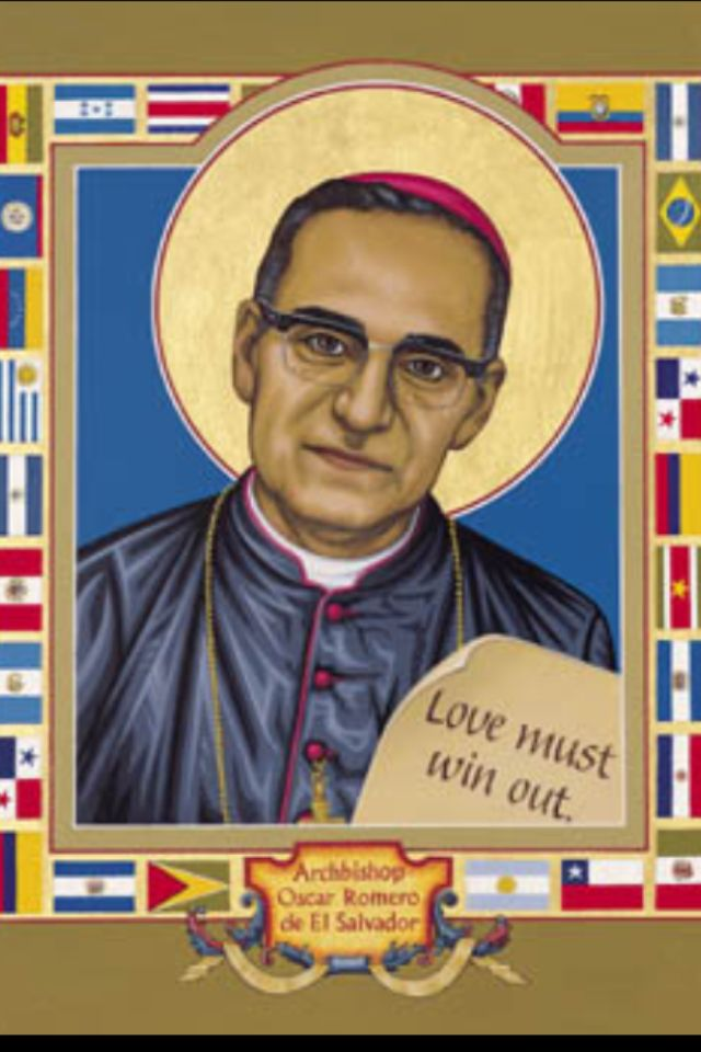 Blessed Archbishop Oscar Romero of Salvador. Martyr.