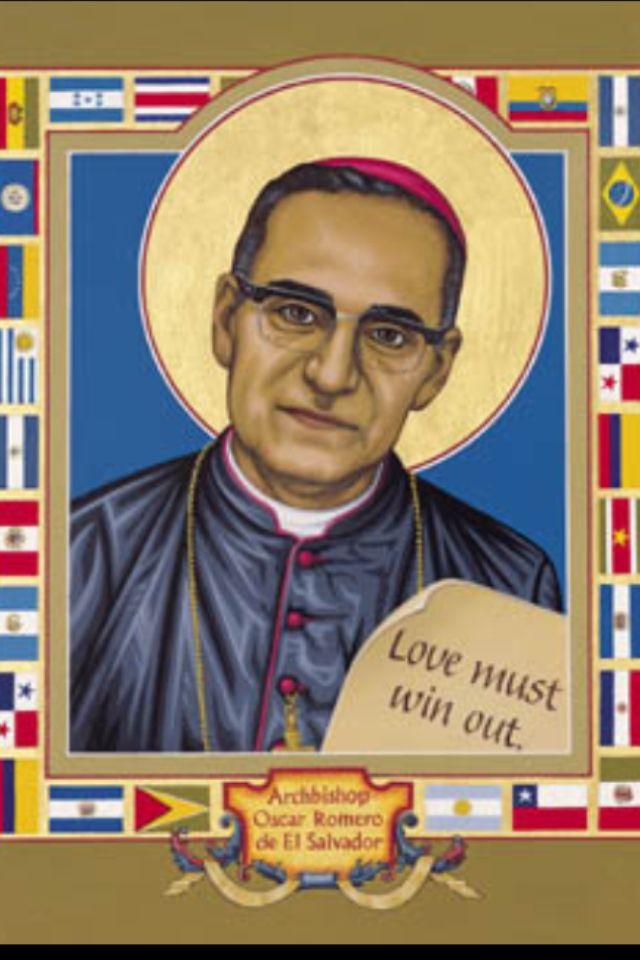 Blessed Archbishop Oscar Romero of Salvador. Martyr.