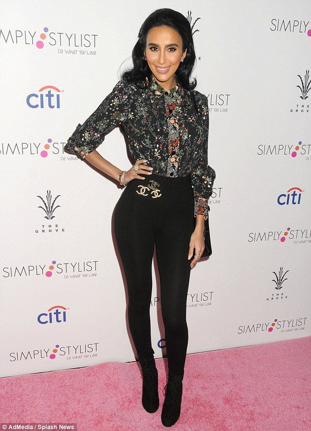 Leggy display: Former Shahs of Sunset reality star Lilly Ghalichi showed off her sculpted ...