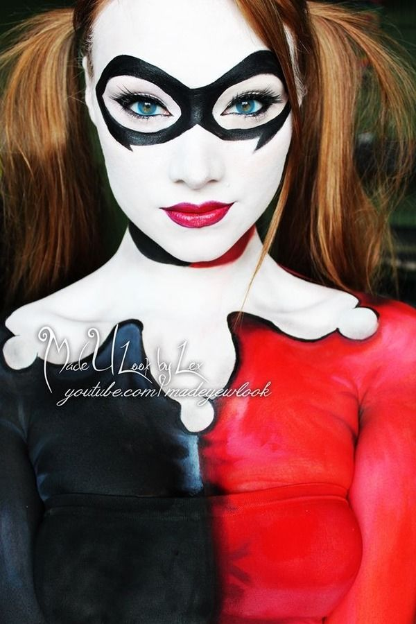 Airbrush Joker Wallpaper: Harley Quinn : Beautylish By Made You Look By Lex (Alexys