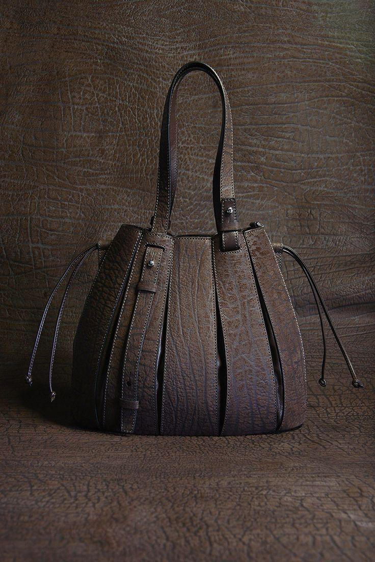 tonal shot. Via Veneta untamed. the genuine buffalo FERN bag