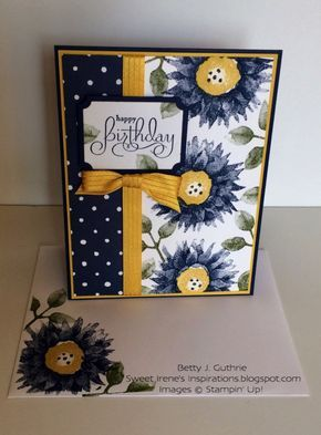 Painted Harvest Birthday by Sweet Irene - Cards and Paper Crafts at Splitcoaststampers
