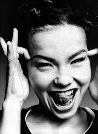 Björk, chine in box.