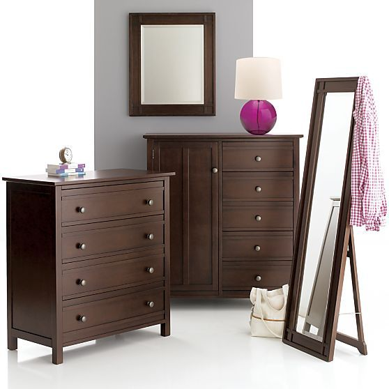 Brighton coffee floor mirror and dressers crate and barrel grants bedroom pinterest Crate and barrel bedroom set