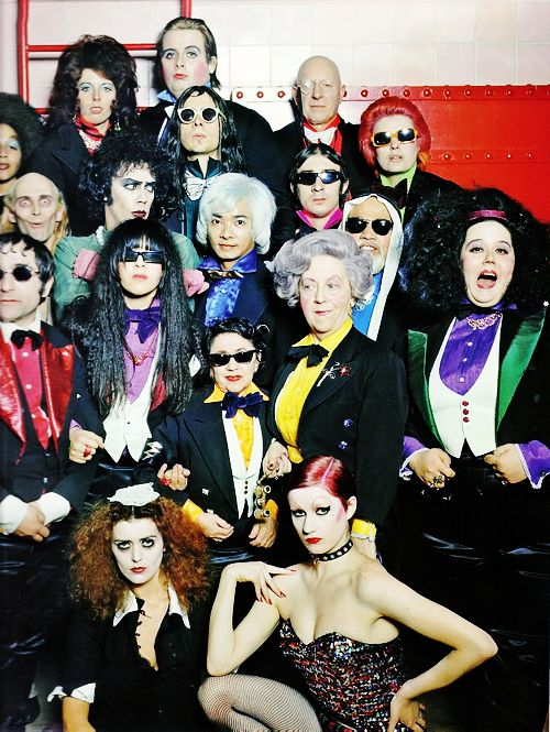 The Rocky Horror Picture Show cast (1975)