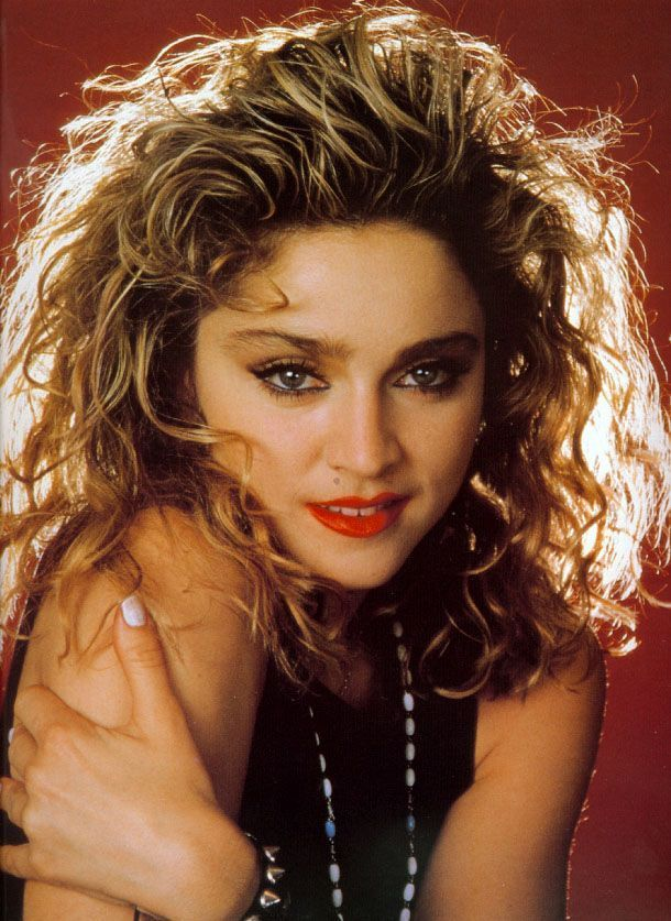 Photo by Ken Regan. 80's Madonna