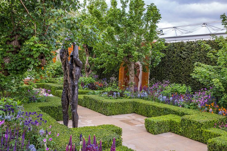 The Healthy Cities Garden at the Chelsea Flower Show 2015 / RHS Gardening by Morgan Stanley