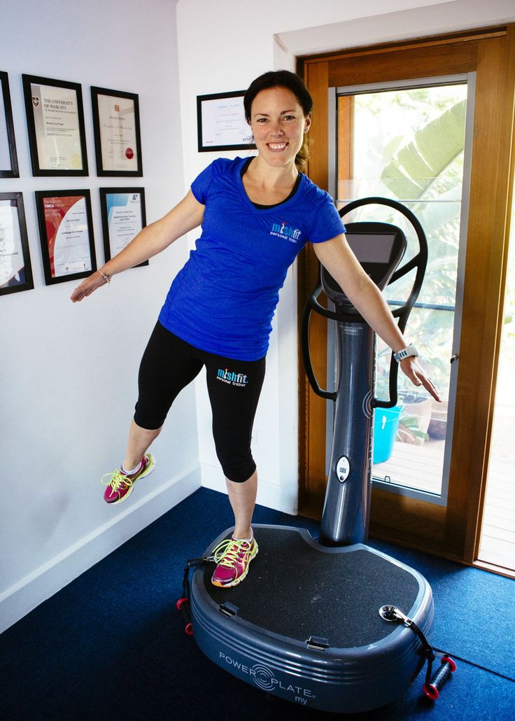 Mel works as a Power Plate Trainer at mishfit HQ