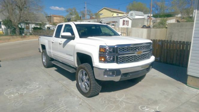 Lift kit 2015 Chevrolet Silverado 1500 LT lifted pickup