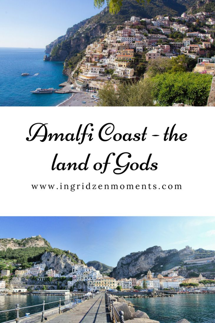 Discovering the amazing Amalfi Coast,Italy - tips on getting from Naples to Amalfi