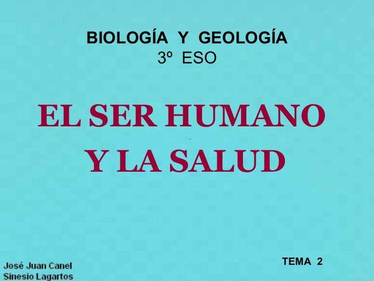 BIOLOGÍA Y GEOLOGÍA          3º ESO EL SER HUMANO    Y LA SALUD                     TEMA 2