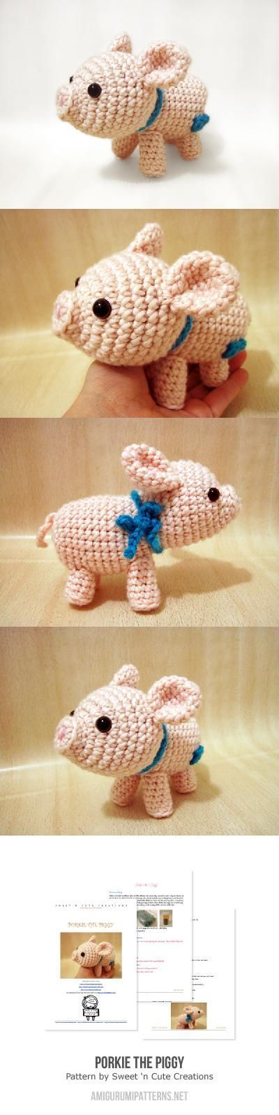 Porkie The Piggy Amigurumi Pattern