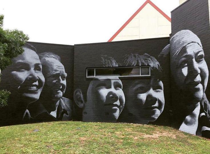 The Dreamer LDN — New mural in Cheltenham by Michael Peck
