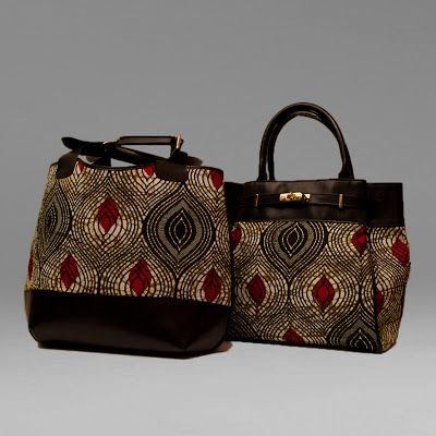 """African Prints in Fashion: """"Dedicated to extraordinary women"""": Inheritance Design Bags"""